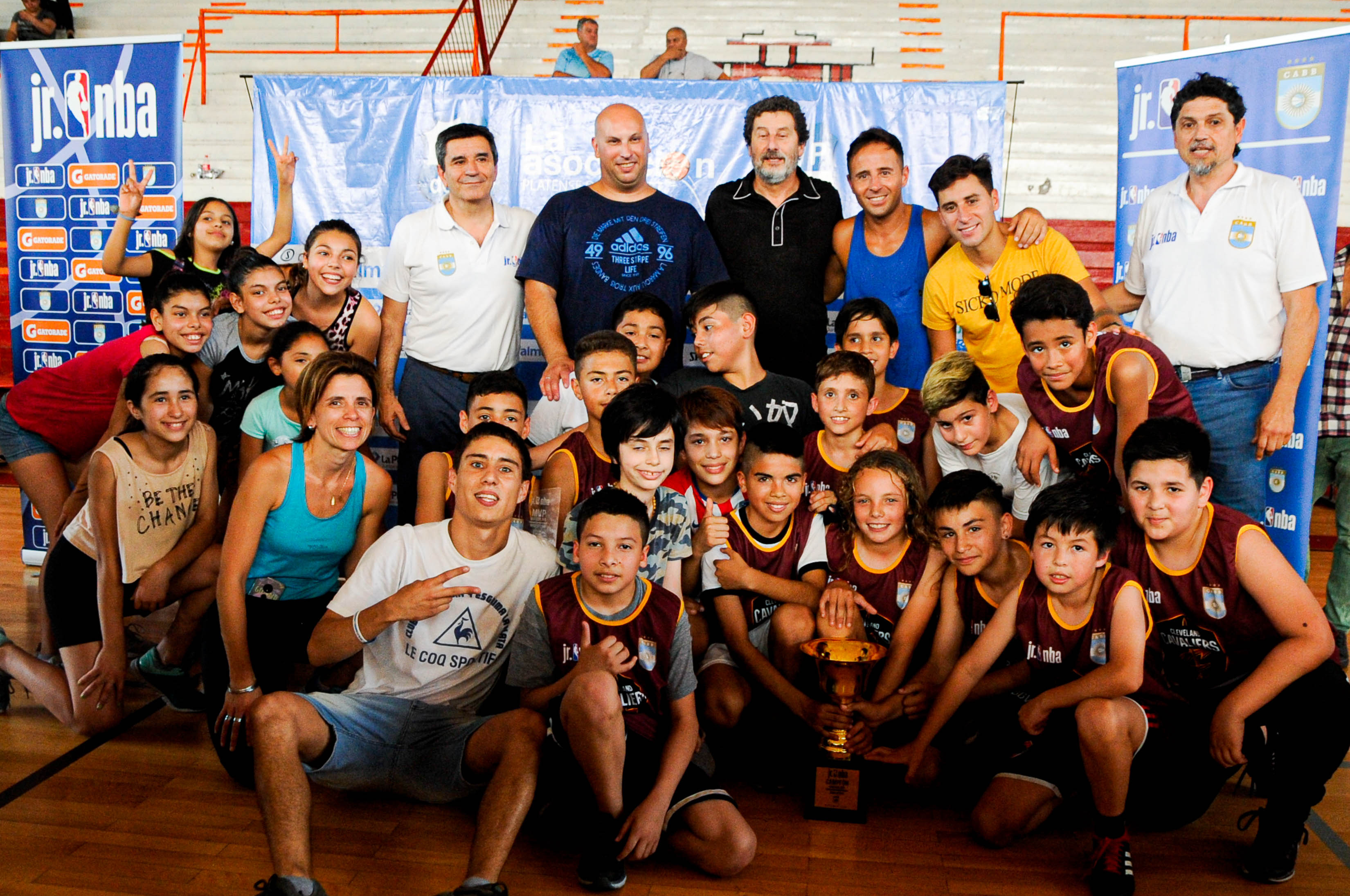 Fiesta final del Jr NBA en La Plata