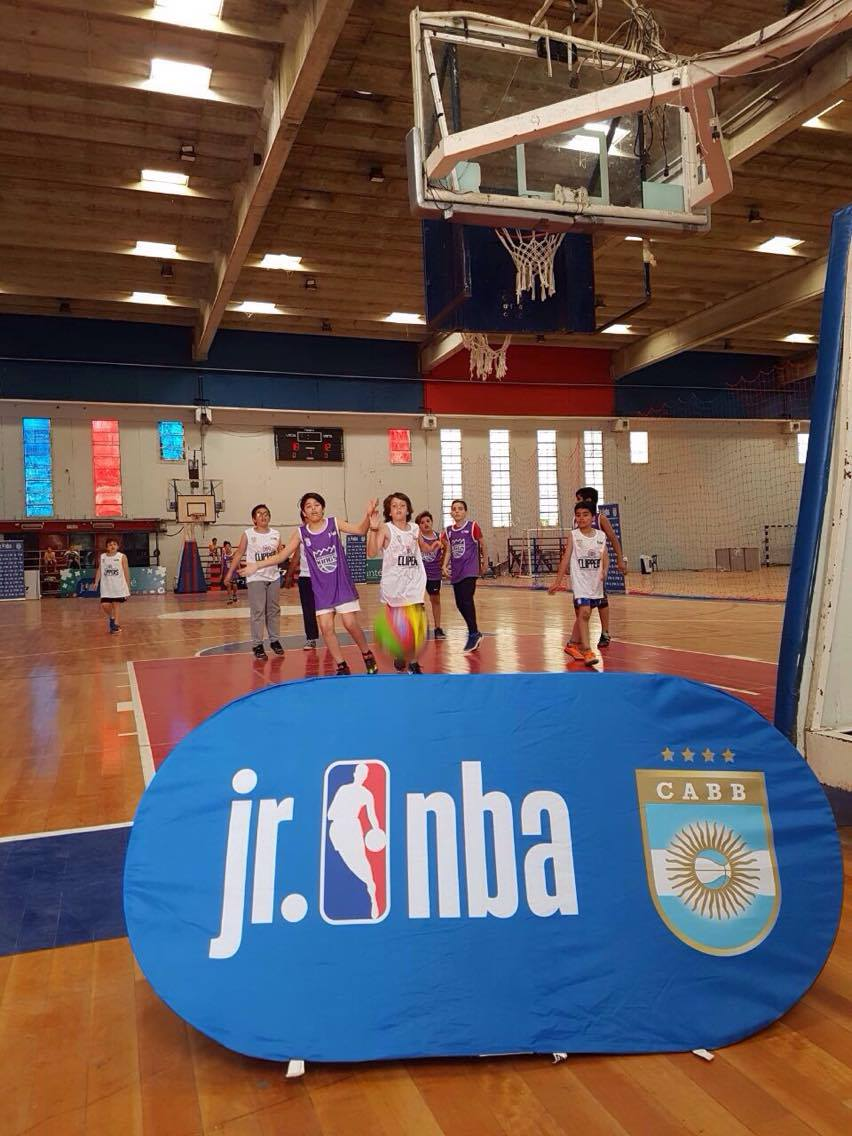 El Jr. NBA estrenó nueva sede en Capital Federal