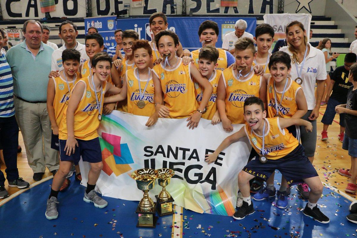 Los Lakers se coronaron en el Jr. NBA de Rosario