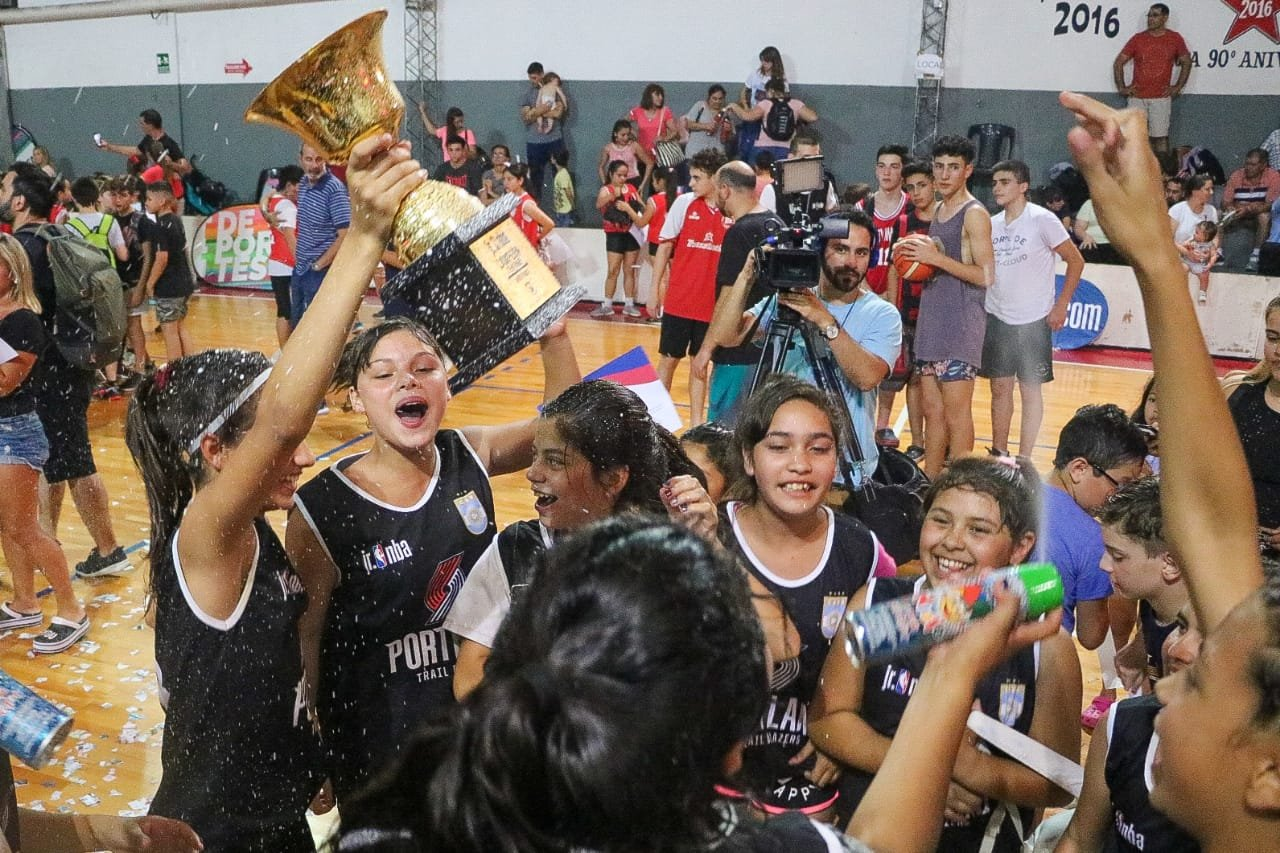 Culminó en Rosario una nueva edición del Jr. NBA