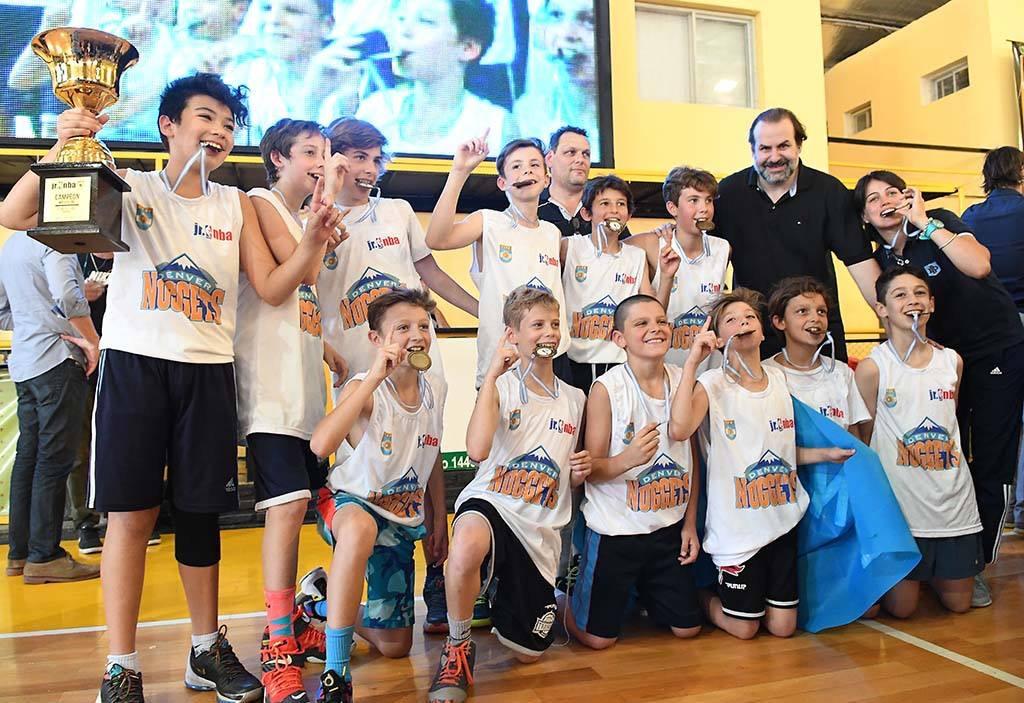 La liga Junior NBA vuelve a la Argentina para su segundo año