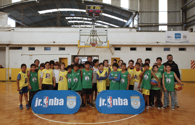 La Plata prepara jornadas de entrenamiento para jugadores del Jr. NBA