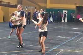 Las chicas jugaron en Río Gallegos