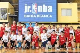 La fiesta de la Junior NBA en Bahía