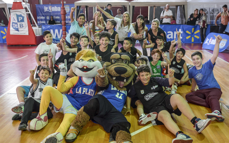 La Plata fue testigo de la fiesta del Jr. NBA