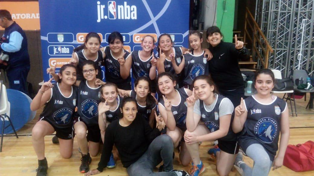 IMA y el Santo campeones del Jr. NBA en Río Gallegos